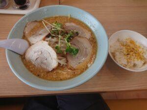 味噌チャーシュー麺(くるまやラーメン東松山店/埼玉県東松山市)