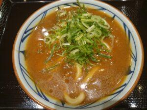 丸亀製麺のカレーうどん!(丸亀製麺ワカバウォーク店/埼玉県鶴ヶ島市)