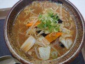 野菜味噌ラーメン(越後秘蔵麺無尽蔵たかさか家/埼玉県東松山市)