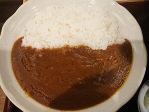 お蕎麦屋さんのカレーセット(生そばあずま坂戸店/埼玉県坂戸市)