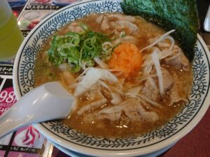 丸源餃子ランチ(丸源ラーメン幸手店/埼玉県幸手市)